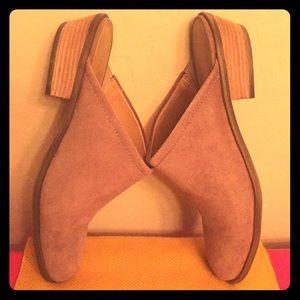 Franco Sarto Suede Leather Booties